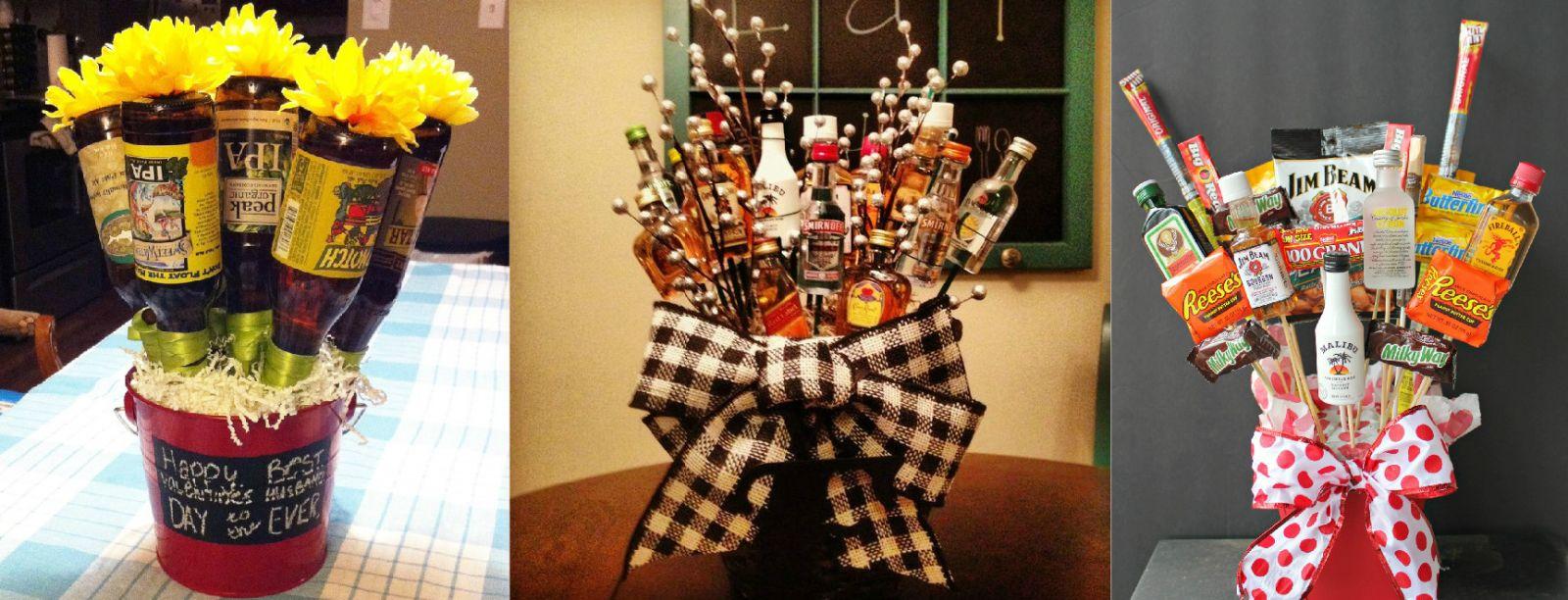 Подарок для мужчины на день рождения из пива