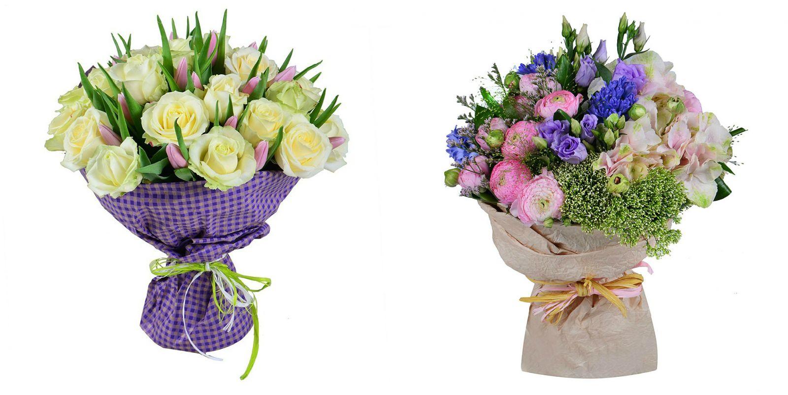 Подарок маме на день рождения букет цветов